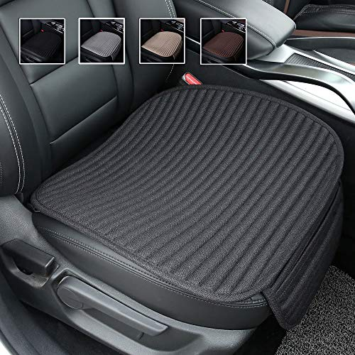 Suninbox Car Seat Cushion,Buckwheat Hulls Car Seat Covers,Ventilated Breathable Comfortable Car Cushion,Anti-Skid Four Seasons General Car Seat Protector - Anchor Medallion Seat