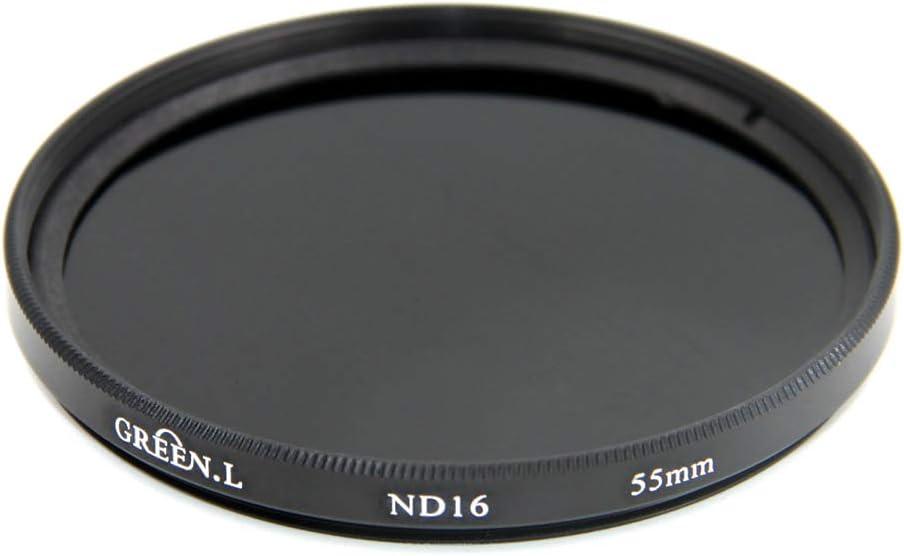 GREEN.L 49mm ND16 ND Filter Slim Neutral Density Lens Filter Optical Glass 4 Stop
