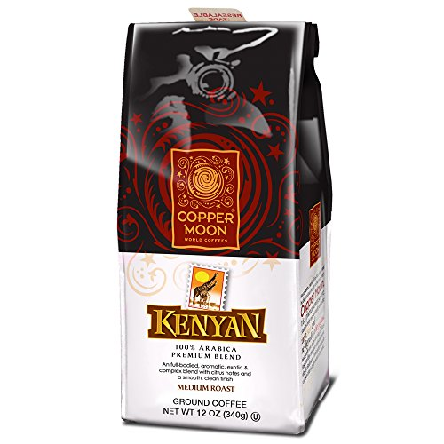 Copper Moon Coffee Kenya, Ground, 12 Ounce