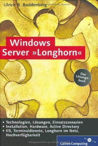 Windows Server Longhorn
