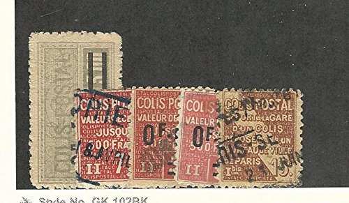 France, Postage Stamp, Q30, Q93, Q52 +2 Others