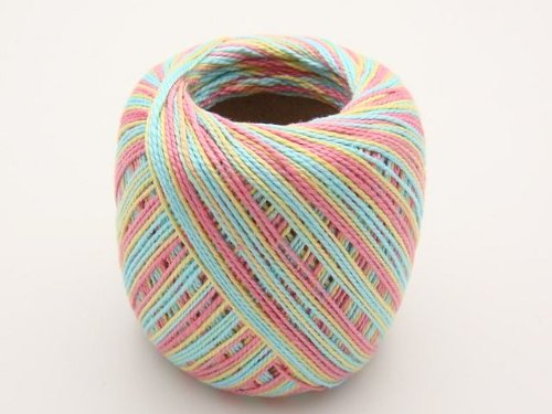 Lot 45 Balls Size 10 Crochet Cotton Threads Yarn Knitting. All Different Colors. by  Clea 125 (Image #4)