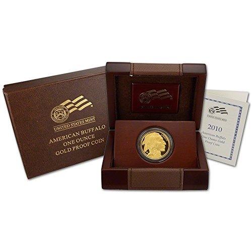 Proof Gold Buffalo - 2010 W American Gold Buffalo Proof (1 oz) $50 OGP US Mint