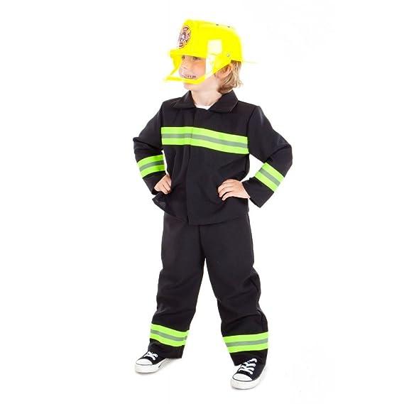 Fire - Disfraz de Bombero para niño, talla 5-7 años (9385): Amazon ...