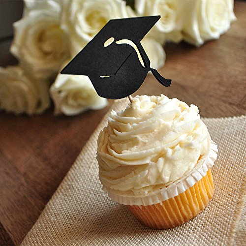 Graduation Cupcake Toppers Party Decor