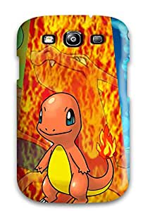 Galaxy S3 Hard Back With Bumper Silicone Gel Tpu Case Cover Pokemon