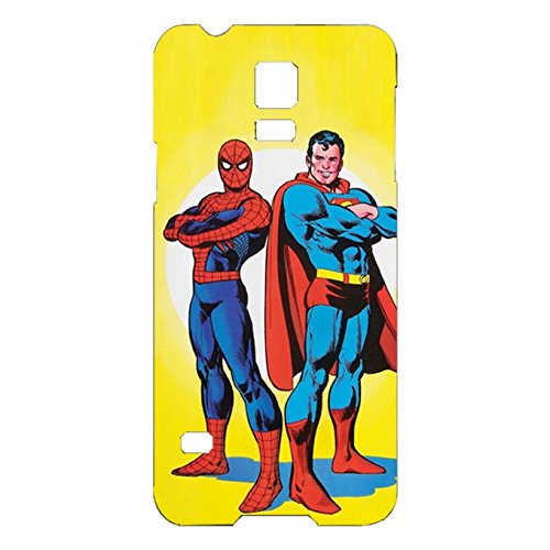 Creative Spiderman With Superman Phone Case Beautiful Back Skin Protector For Samsung Galaxy S5 Mini