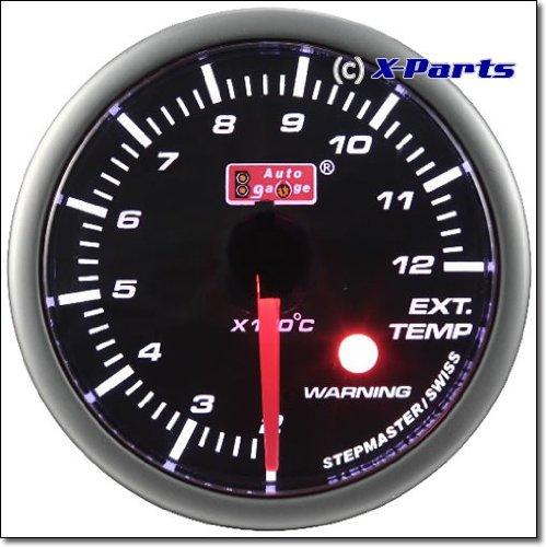 52 mm Stepper Exhaust Temp Exhaust Temp Display with Sensor: