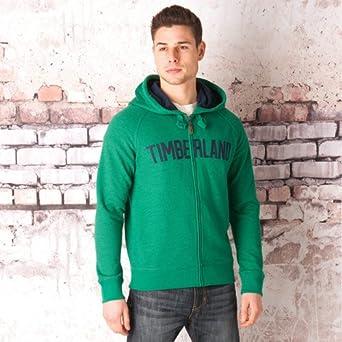 9c0f1b4b55 Timberland - Sudadera con capucha - para hombre Verde verde Small   Amazon.es  Ropa y accesorios