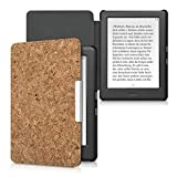 kwmobile Flip Cover Case made of Cork for Kobo Glo HD (N437) / Touch 2.0 - folder-style case in light brown