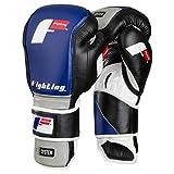 Fighting Sports S2 Gel Fierce Bag Gloves, Black/Grey, 12 oz