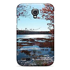 New Arrival Case Cover With CRkrFia3830GFBNS Design For Galaxy S4- Last Gasp Of Autumn