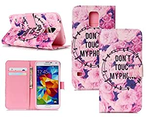 For Samsung Galaxy S6,Galaxy S6 Leather,S6 Wallet Case,Candywe PU Flip Wallet Leather Protective Case Cover For Samsung Galaxy S6 008