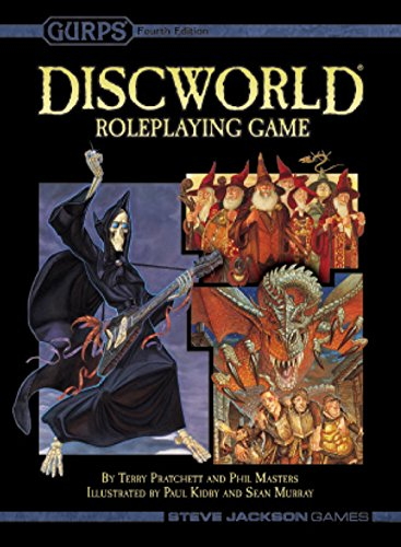 Gurps: Disc World RPG 2nd Edition (Stand Alone) - Hardcover