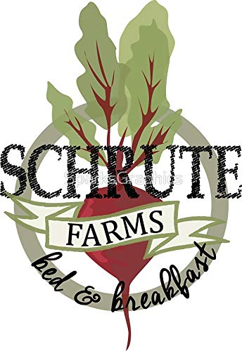 LA STICKERS Schrute Farms Bed and Breakfast - Sticker Graphic - Auto, Wall, Laptop, Cell, Truck Sticker for Windows, Cars, Trucks