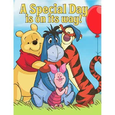 Disney Pooh and Pals Invitations (8)