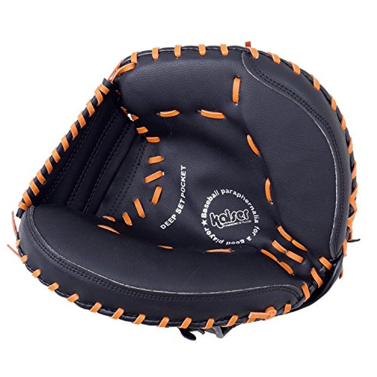 [해외] KAISERkaiser 연식 캐쳐 미트 KW-340 야구 연습용 일반용