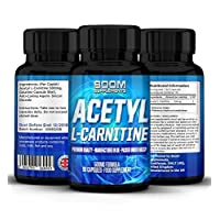 Acetyl L-Carnitine 500mg | Strong Acetyl-Carnitine Tablets | Powerful Nootropics | 90 Powerful Energy Boosting Capsules | FULL 3 Month Supply | Safe And Effective | Manufactured In The UK!