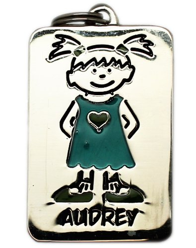 Audrey Name Tag Charm by Ganz