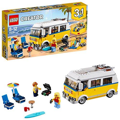 [해외]레고 (LEGO) 크리에이터 서퍼 야영지 수레 31079 / Lego (LEGO) creator Surfer`s Camp wagon 31079