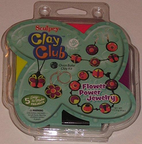 Clay Club Flower Power - Kit Jewelry Power Flower