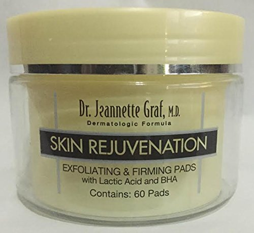 Dr. Jeannette Graf Skin Rejuvenation Exfoliating and Firming Pads with Lactic Acid and BHA