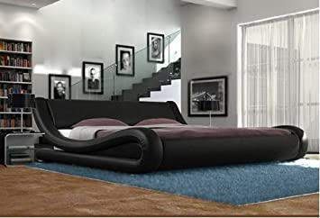 Exclusive Best Selling European Designer Bed Supplied In Brown Black, White  And Black U0026 White