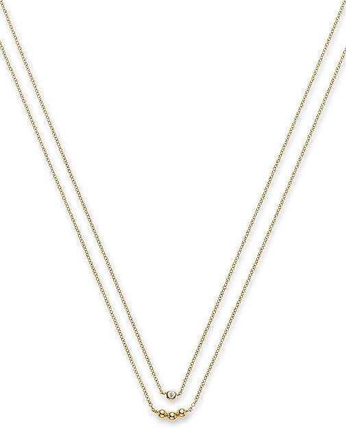 CHRIST Diamonds Damen Kette 375er Gelbgold 1 Diamant One