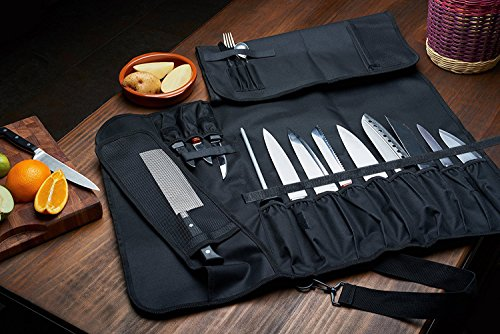 Chef Knife Cases Holders Amp Protectors Roll Bag 16 Slots