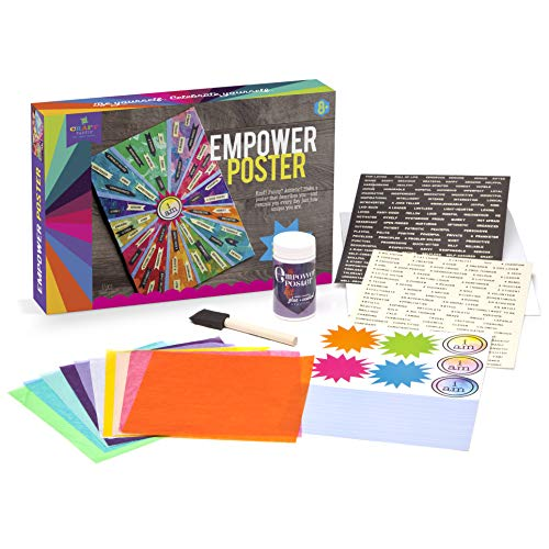 Craft-tastic – Empower Poster – Craft Kit – Design a One-of-a-Kind Inspirational Poster