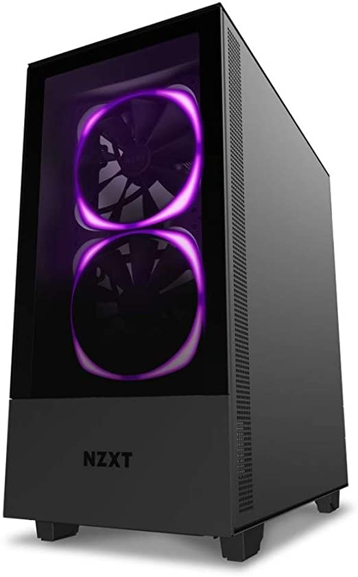 Nzxt H510 Elite Mid Tower Pc Gaming Gehäuse Mit Computer Zubehör