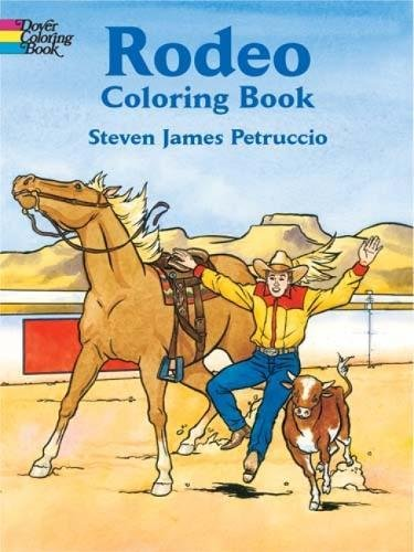 Rodeo Coloring Book (Dover History Coloring Book) (Rodeo History)