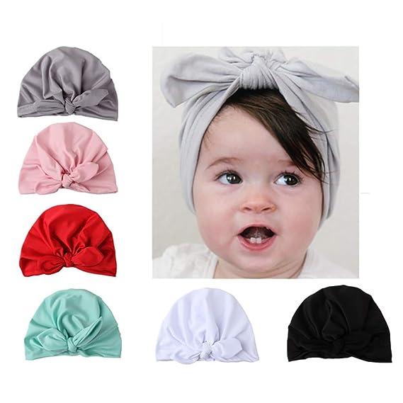 Tukistore 6 Piezas Sombrero de Bebé Invierno Bebé Niños Niñas Gorros ...