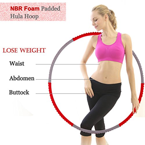 cusfull-weighted-hula-hoop-23-lbs-for-fitness-exercise-weight-loss-premium-nbr-foam-surface-detachab