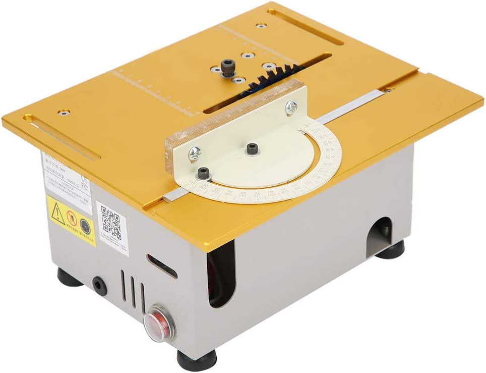 0-29 mm Schnittdicke Fafeicy Mini Tischkreiss/äge EU plug DIY Holzbearbeitung Multifunktionales Desktop-Schneidwerkzeug AC110V 220V 96W