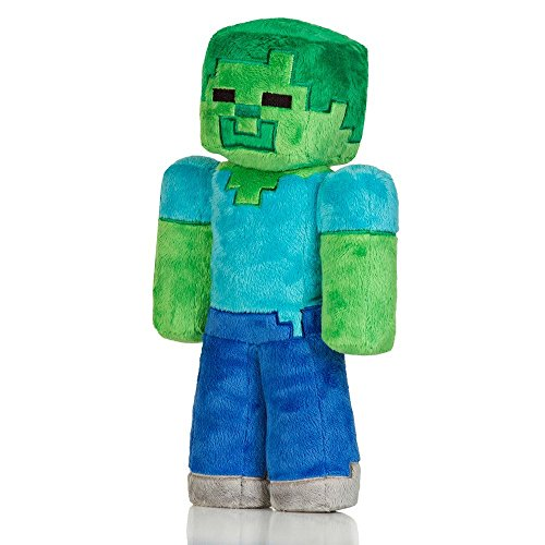 Official Minecraft Zombie 32.5 cm Plush Toy Officiel Minecraft Zombie 32,5 cm Peluche