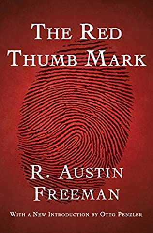 book cover of The Red Thumb Mark