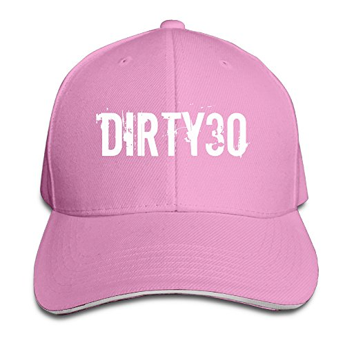 k-fly2-unisex-adjustable-30th-birthday-baseball-caps-hat-one-size-pink