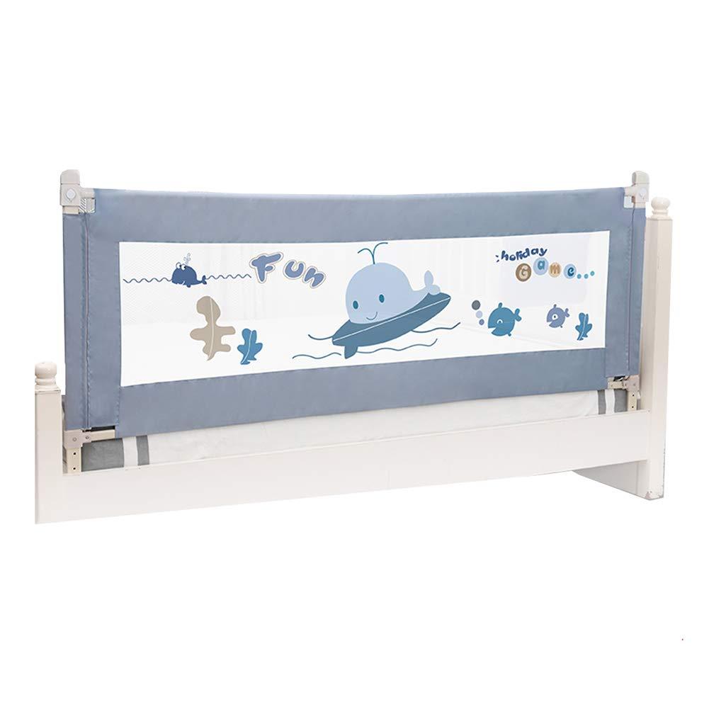 JY 縦型リフトベビーベッドレール、超長距離子供用ベッドガード、幼児用安全ベッドレール、調節可能な高さ69-92cm (サイズ さいず : Length 180cm) Length 180cm  B07L9BVYQ1