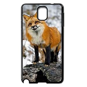 WJHSSB Customized Print Fox Hard Skin Case Compatible For Samsung Galaxy Note 3 N9000