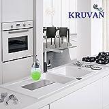 KruVan Rust Proof Mason Jar Liquid Soap Dispenser Pump