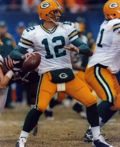 AARON RODGERS GREEN BAY PACKERS 8X10 HIGH GLOSSY SPORTS ACTION PHOTO (Aaron Rogers Green Bay Packers)