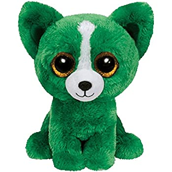 Ty Inc Beanie Boo Plush Stuffed Animal Dill the Green Dog 6