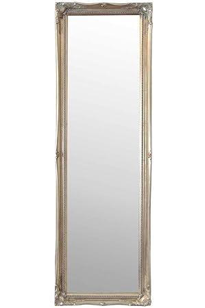 Shabby Chic Mirrors Joliment décoré Argent Antique Style Vintage ...
