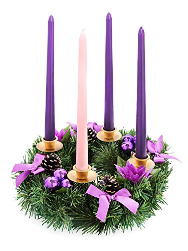 elite christmas products advent candle set made in the. Black Bedroom Furniture Sets. Home Design Ideas