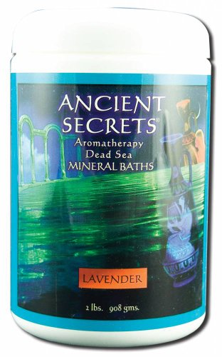 Ancient Secrets Bath Salt (Ancient Secrets Dead Sea Aromatherapy Bath Salts Lavender 2)
