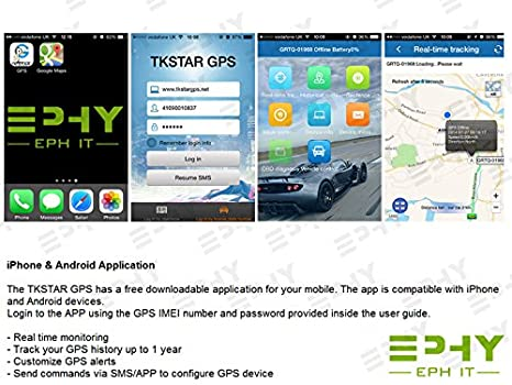 Amazon.com: TKSTAR Mini tiempo real Auto Dispositivo de ...