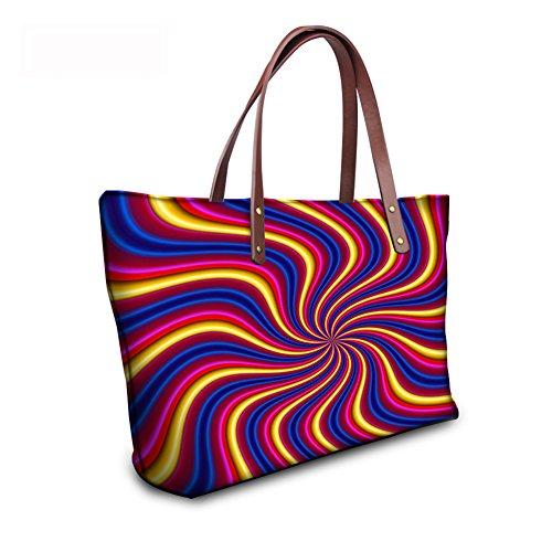 Women Bags Purse C8wc0681al Vintage Bags School Foldable FancyPrint Wallets wgqXf4R