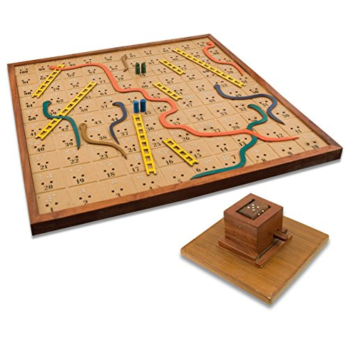 Snakes and Ladders Board Game For the Blind by MaxiAids