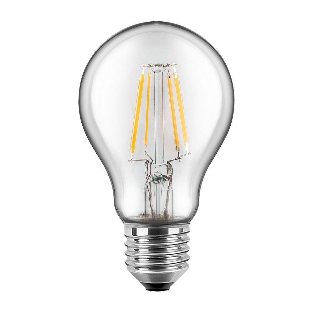 blulaxa® LED filament bombilla E27, 5 W equivalente a 50 W ...